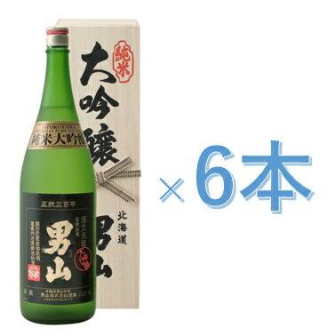 《送料無料》男山純米大吟醸(化粧箱入り)18L×6本[清酒男山北海道]お酒日本酒おとこやまやや辛口《