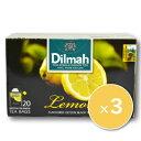 ディルマ フレーバーティーシリーズ レモン (2g×20P)×3箱 [ワルツ]《あす楽》