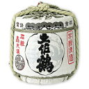 《送料無料》土佐鶴 菰樽 1800ml (化粧箱入り)