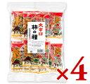 浪花屋製菓 大辛口柿の種 徳用袋 224g(16g×14袋入)× 4個 【ピーナッツなし つまみ
