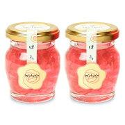 《送料無料》金市商店 薔薇花びら入蜂蜜 110g × 2個《あす楽》