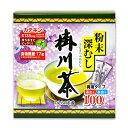 ショッピング水筒 《送料無料》のむらの茶園 粉末深むし掛川茶スティック 0.5g x 100本 野村産業