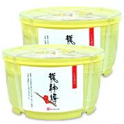 《送料無料》 龍神梅 小粒梅干丸樽 1kg × 2個[龍神自然食品センター]《あす楽》