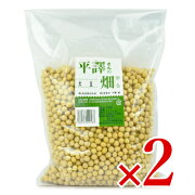 風水プロジェクト 平譯さんの畑から 大豆 1kg × 2個《あす楽》