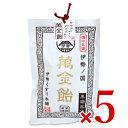 伊勢くすり本舗 伊勢国朝熊岳 萬金飴 黒糖風味(個包装) 100g × 5袋