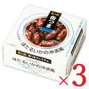 K&K 缶つまプレミアム 日本海獲りほたるいかの沖漬風 85g × 3個 【缶つま 缶詰 KK ほたるいか いか イカ つまみ】