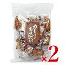 【マラソン限定!最大2000円OFFクーポン】山盛堂本舗 カレーのおせんべい 大袋 200g × 2袋