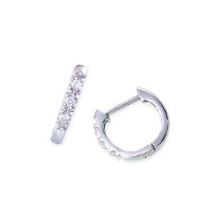 ポイント プラチナダイヤモンドピアス ダイヤモンド