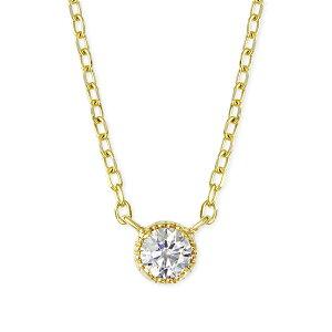 ポイント ダイヤモンド イエローゴールドダイヤモンドネックレス ネックレス