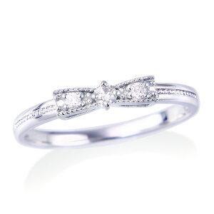 ホワイトゴールドダイヤモンドリング ダイヤモンド