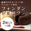 温かいチョコレートケーキの中から、流れるチョコレートソース。濃厚かつビターでエレガントな味わいのチョコレートケーキです。フォンダンショコラ[Traiteur de Paris トレトールドパリ]2個入x2箱チョコレート ケーキ/チョコレート ソース/チョコレート フォンダン/スイーツ/ティータイム/洋菓子/デザート/バレンタインデー/ホワイトデー/15個以上購入で 送料無料