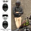 マッドマッスクJ02 ローマン マスク付 ジェットヘルメット SG規格