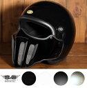 マッドマッスクJ02 ローマン マスク付 ジェットヘルメット SG/PSC規格品