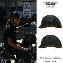 装飾用ヘルメット リブリブ・ジョッキー レザーリムショット ブラウンレザー ハーフヘルメット S,ML,XLXXL