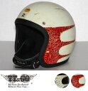 装飾用ヘルメット 500-TX ディストーション スキャロップ スモールジェットヘルメット XS,S,ML,XLXXL