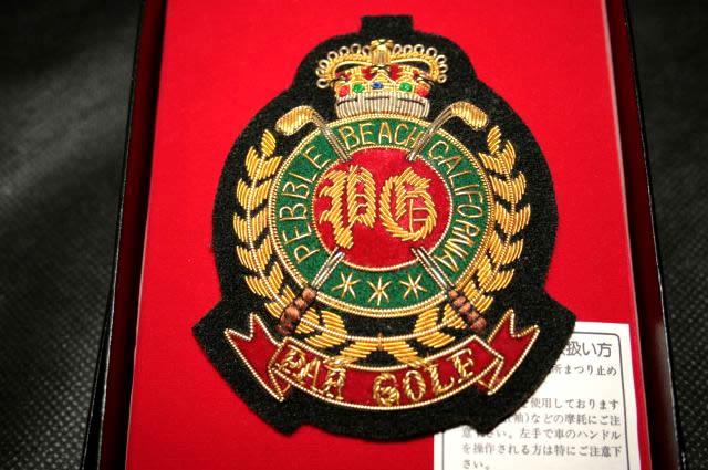 【送料無料】金モールエンブレムE-676