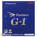 [送料無料 14時までのご注文で当日発送] 卓球 ラバー Nittaku(ニッタク) ファスターク G-1 G1