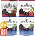 【送料無料・4袋セット】ブルックサイドダークチョコレート 200g×4袋 (アサイー&ブ