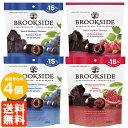 【送料無料・4袋セット】ブルックサイドダークチョコレート235g×4袋(3種より選択)