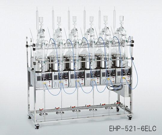 ★最大P22倍★ 7/14-7/21【全国配送可】-自動温調式蒸留装置 5連式セット スギヤマゲン 型番EHP-521-5ELC aso3-5217-05 -【研究用機器】