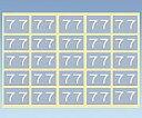 いまだけ!★ポイント最大15倍★【全国配送可】-カラーナンバーラベル 50×50mm(7) その他 型番CNL-S  JAN4571347222470 aso 0-2564-08 -【医療・研究機器】