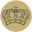 【法人様限定商品】-ed 132679 王冠シール(1)ゴールドΦ2.5 メーカー名 オキナ-【教育・福祉】