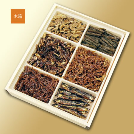 [Kanazawa, tsukuda's Tsukudani] and 6 flavours