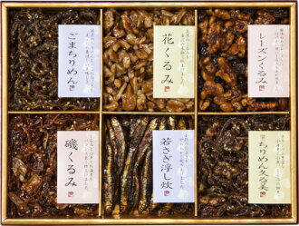 [foods boiled down in soy of Kanazawa, Tsukuda] assorted nut and small fish boiled in soy