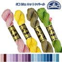 糸 刺繍糸 ( 刺しゅう糸 ) DMC 5番 25m Art115 コットンパール 【色見本番号B】 つくる楽しみ