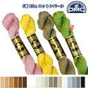 糸 刺繍糸 ( 刺しゅう糸 ) DMC 5番 25m Art115 コットンパール 【色見本番号E】 つくる楽しみ