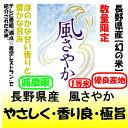 お試し米2合(300g)長野県産 風さやか(減農薬)全国送料無料メール便!