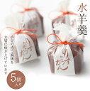 水羊羹 5個入 北海道産小豆使用 人気ギフト お茶菓子 お土産