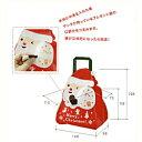 [業務用]不織布バック 1枚 袋サンタ クリスマス