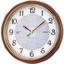 ショッピングソーラー電波 SEIKO ソーラー電波掛時計木枠 412 x 112 x 402 mm SF221B