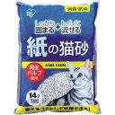 IRIS 紙の猫砂 14L KMN-140N 1 袋