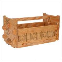 YOKA CARPENTER'STOOLBOX ナチュラル W408xD204xH204mm YK-PF09-001