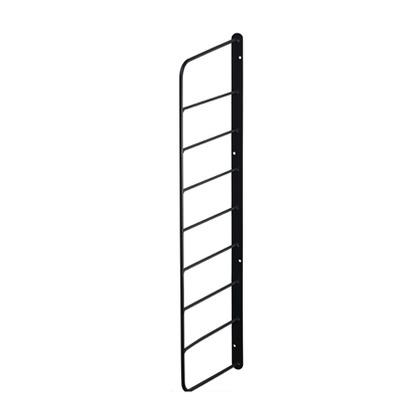 LABRICO シェルフフレーム6 黒 幅2cm×奥行16.5cm×高さ57cm WFK-56 1個