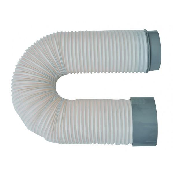 広電 排熱ダクト スポットクーラーアクセサリー グレー 冷風機 KSP01 1個