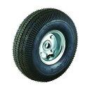 トラスコ(TRUSCO) TRUSCO ドラム缶運搬車TDR−2用250mm空気入りタイヤ TDR-2-10C 1