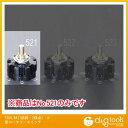 エスコ 125V/6A[1回路・ 2接点]小型ロータリースイッチ (EA940DH-521)