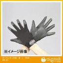エスコ ポリウレタン手袋 黒 L EA353BB-42