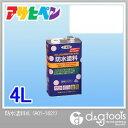 アサヒペン 防水塗料 (透明)クリア 4L 防水用塗料 防汚用塗料 塗料 防水用
