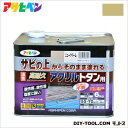 アサヒペン 油性高耐久アクリルトタン用塗料(ペンキ) ニュークリーム 6kg アサヒペン トタン塗料 とたんペンキ