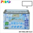 アサヒペン NEW水性インテリアカラー浴室カベ用 無臭水性塗料 白 5L