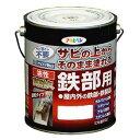 アサヒペン 油性高耐久鉄部用塗料 アイボリー 3L