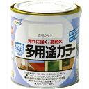 アサヒペン 水性多用途カラー クリヤ 0.7L asahipen 塗料 水性塗料