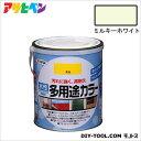 アサヒペン 水性多用途カラー ミルキーホワイト 1.6L asahipen 塗料 水性塗料