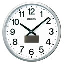セイコー ハイブリットソーラー電波掛時計 (SF242S)  文具・OA機器 文具・事務用品