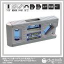 アックスブレーン 設備レベル(V溝・マグネット付)気泡管:ブルー 本体ホワイト 巾16.0×高さ43.0×長さ100mm (DSE-100WB) 水平器 水平 水平機