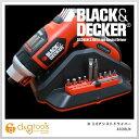 ブラック デッカー コードレススクリュードライバー コンパクト アシスト ドライバー